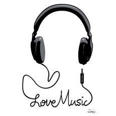 Music, casque