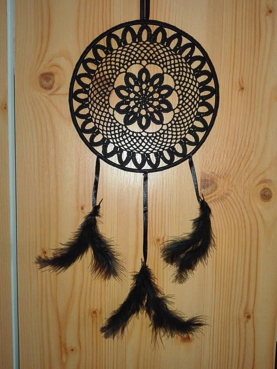 Hey, I found this really awesome Etsy listing at https://www.etsy.com/listing/513625476/balck-magic-dream-catcher