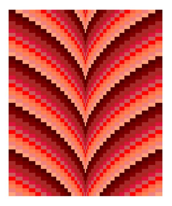 Hey, I found this really awesome Etsy listing at https://www.etsy.com/no-en/listing/200517428/autumn-points-bargello-quilt-pattern