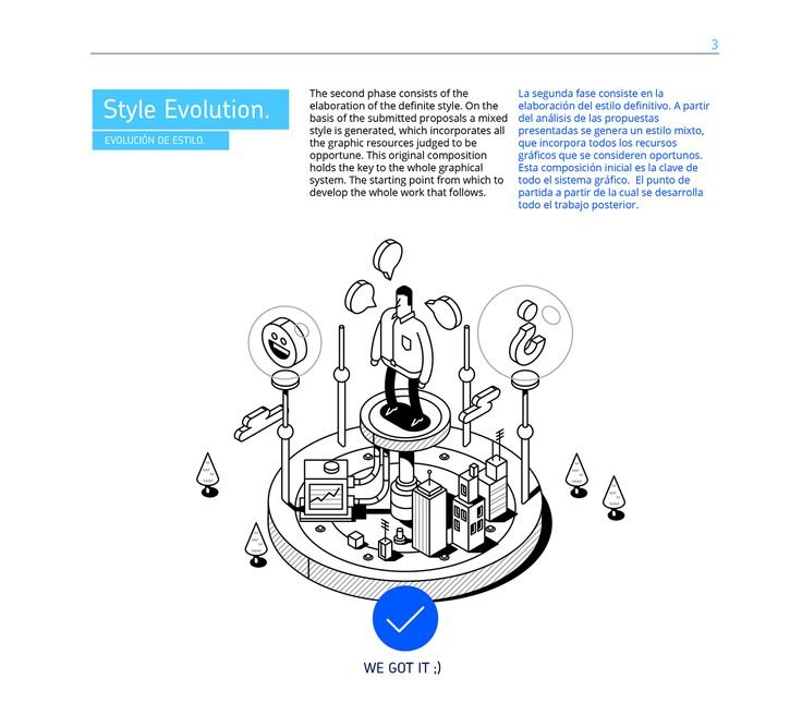AZZURRI Corporate Illustration on Behance