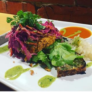 Back on the menu tomorrow night Deconstructed Lentil Burger withhellip
