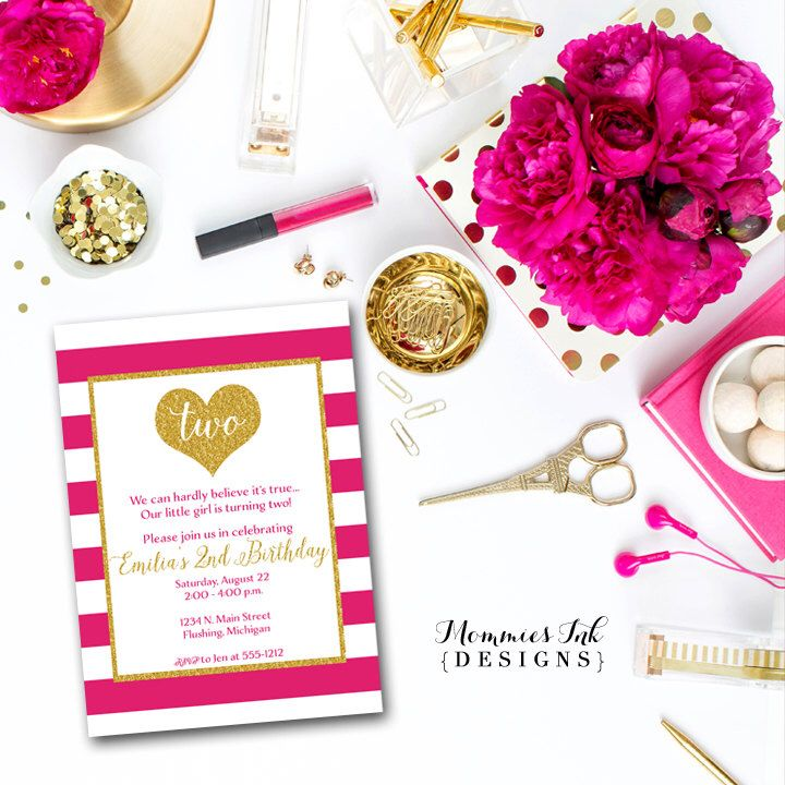 197 best girl birthday party invitations images on Pinterest