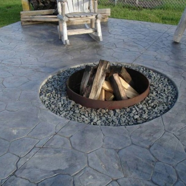 17 best images about built in fire pit on pinterest fire for Built in fire pits designs