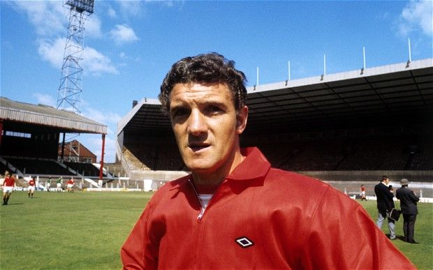 Bill Foulkes 1958 - 1959. Survived the 1958 Munich  air disaster.