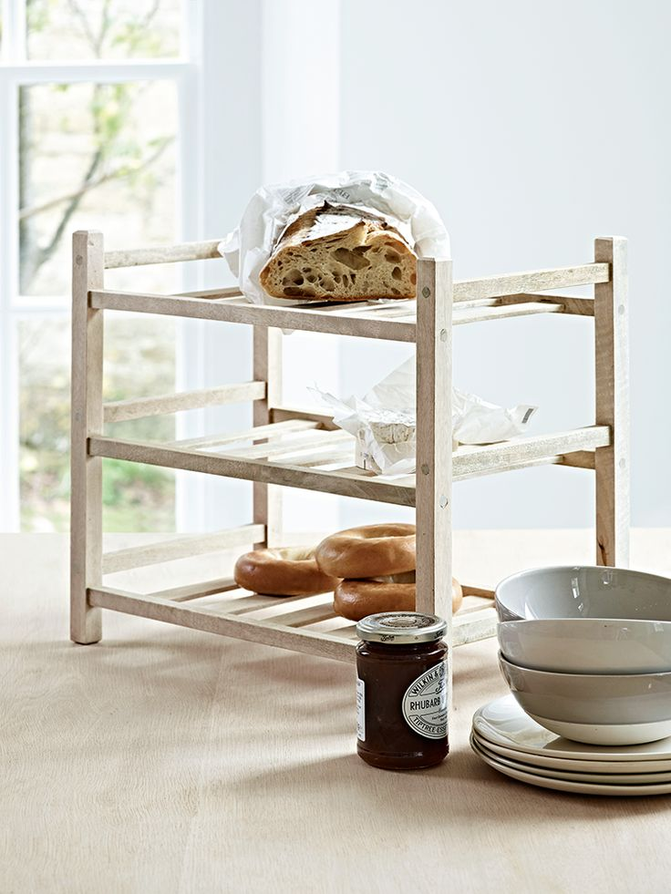 Teak Kitchen Rack  |  Cox & Cox