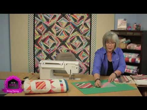 String Piecing Techniques & Quilt Patterns that WOW! - Fons & Porter