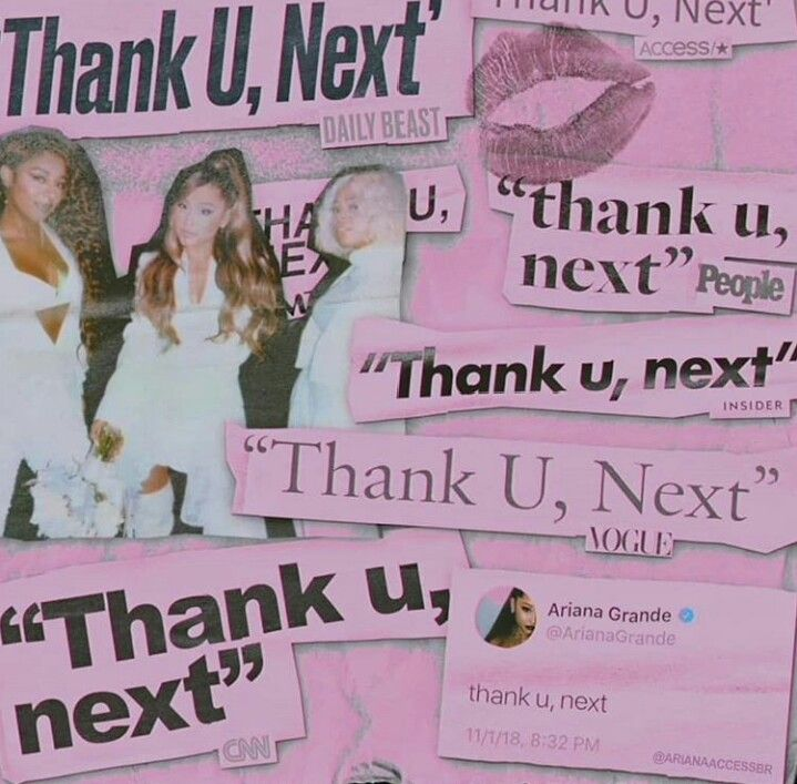 Pin On A Era Ariana Thank U Next 2018