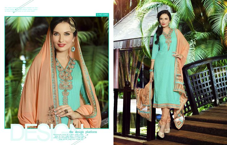 """Bellastiles Presents:-""""Mallika Dresses Collections"""" Fabric Details:- Pure cotton weaving Fabrics, Cotton Bottom, Chiffon Duppatta with heavy work.  To place #Orders : (#USA):610-616-4565, 610-994-1713; (#India):99-20-434261; E-MAIL:market@bellastiles.com, wholesale@bellastiles.com  #Bellastiles #Dresses #DesignerDresses #Fashion #LadiesWear #EthnicWear #Sale #Discounts #Clothing #LadiesApparel #eCommerce #onlineShopping #FreeShipping #BuyOnline"""