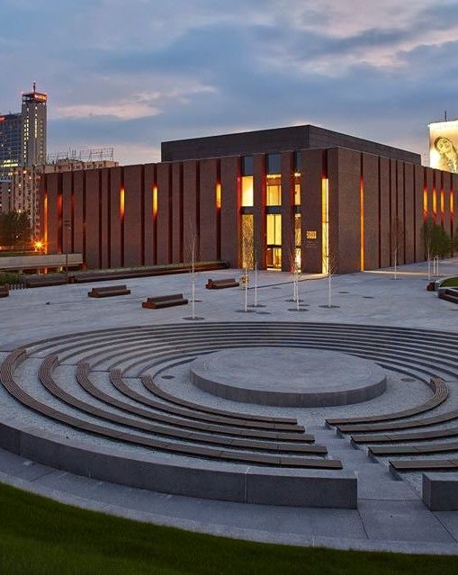 Katowice, the new hall of the National Symphony Orchestra of the Polish radio