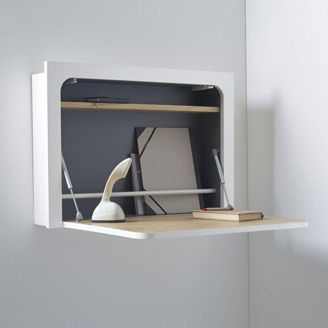 caisson mural bureau table de lit. Black Bedroom Furniture Sets. Home Design Ideas