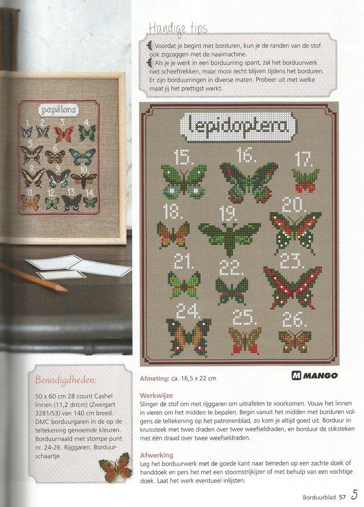 Vrolijke vlinders - deel 2