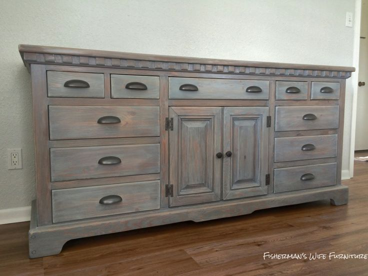 Dresser Renovation Buffet Driftwood Stain | For The Home | Pinterest |  Driftwood Stain, Driftwood And Buffet