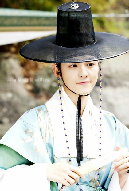 Song Joong Ki 2010 in Sungkyunkwan Scandal (Gu Yong-Ha)