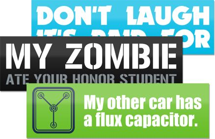Vehicle marketing and advertising cost effective way to promote your ventures custom stickersbumper