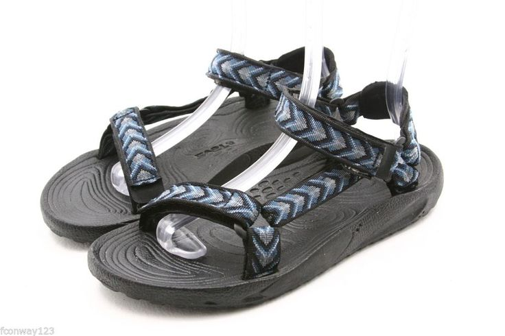 TEVA mens sandals Size 10 HURRICANE BLue waterproof river water sport shoes #Teva #SportSandals