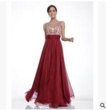 Мужчин сексуальная росы плечо сладкий элегантный ну вечеринку 2015 одеяние де вечер с длинным vestido лонго новый красный Большой размер платья x0447(China (Mainland))