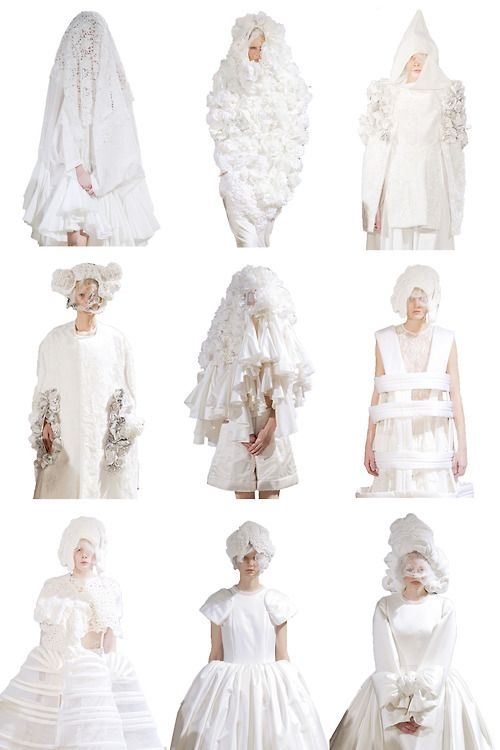 ~~Comme Des Garcons Spring 2012~~ Via i've seen the truth and it's nothing like you said