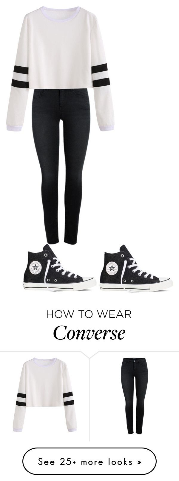 """Untitled #483"" by brain-cosand on Polyvore featuring Converse"