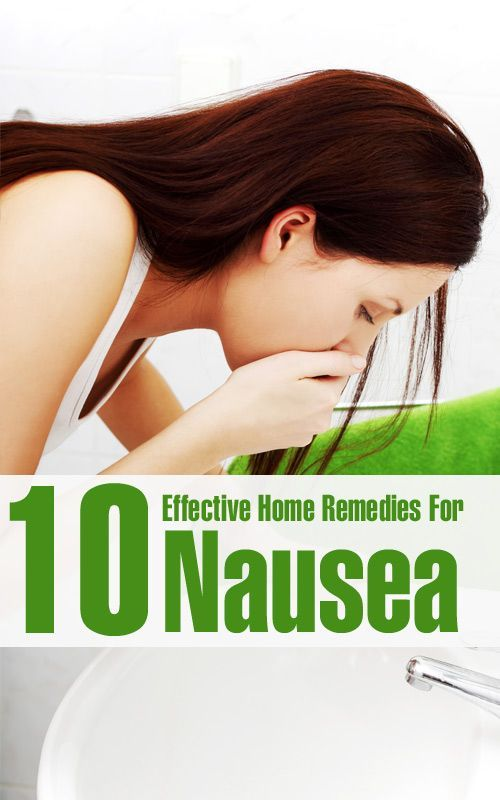 10 Effective Home Remedies For Nausea