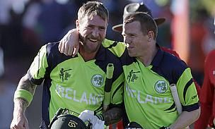 Paul Stirling, Ed Joyce and Niall O'Brien compiled fine innings as Ireland chased down 304 against West Indies