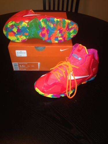 nike lebron 11 fruity pebbles