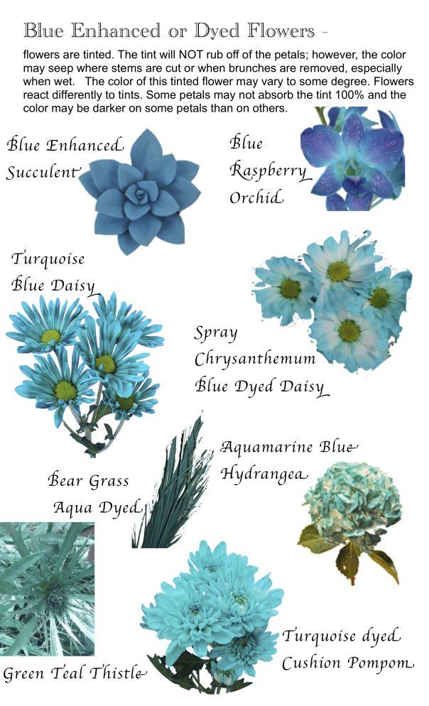 Flower names by Color Bukiety, Kompozycje kwiatowe i