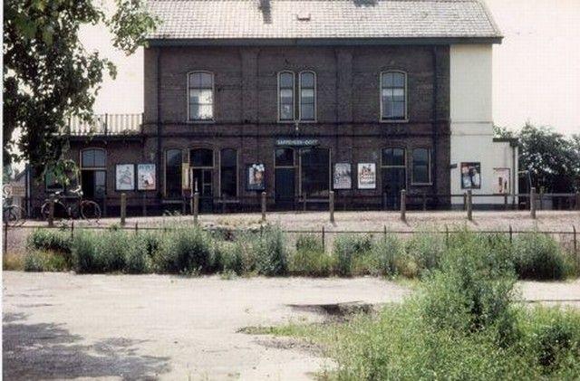 Oude station Sappemeer Oost