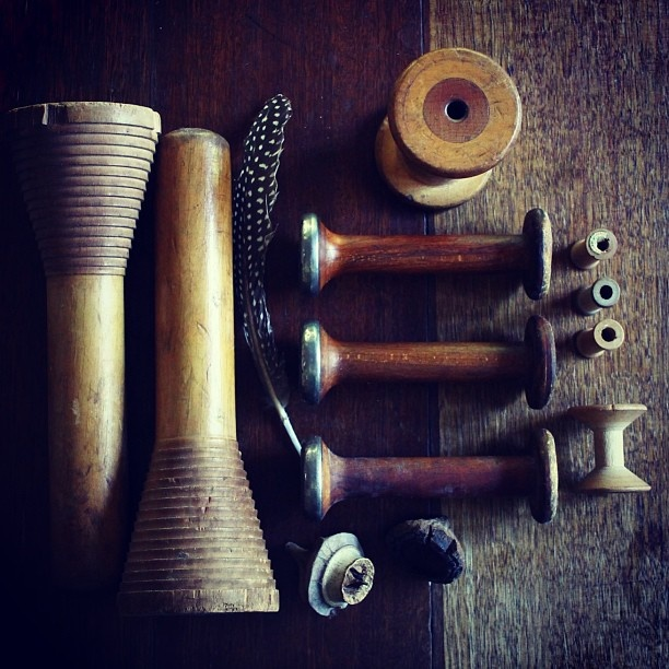 Collection - wood - bobbins