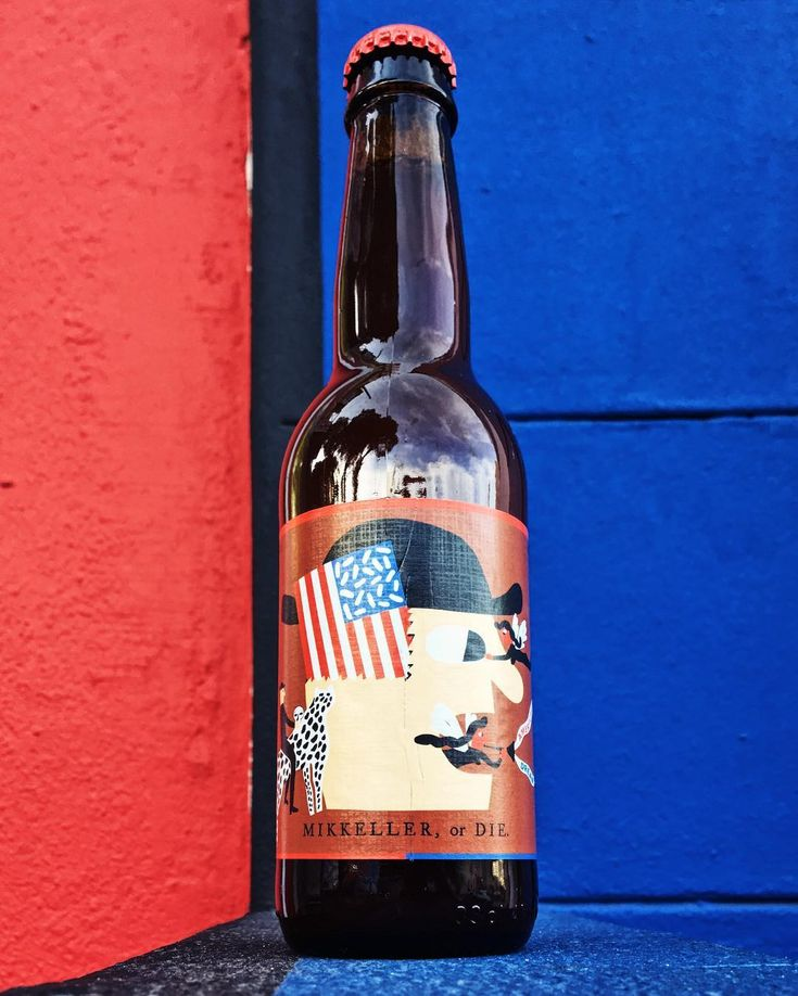 This makes me think of @eddieizzard's Cake or Death: @mikkellerbeer or die. The choice is simple I think. If that isn't badass enough there's a guy holding a skull riding a leopard on the label. So much for the American dream.  A pretty tasty pilsner from Belgium - with a pretty price tag too - but worth the experience. Local is lekker but sometimes imported expands the horizons.  Pours a strong orange with a thick medium head. Very citrusy and hoppy on the nose with a light but full body…