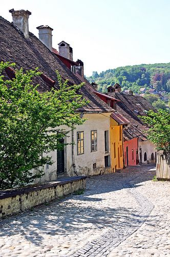 The citadel of Sighisoara, one more UNESCO Heritage Site, considered to be the most beautiful and well preserved inhabited citadel in Europe and one of the only few fortified towns in the world still inhabited.Romania