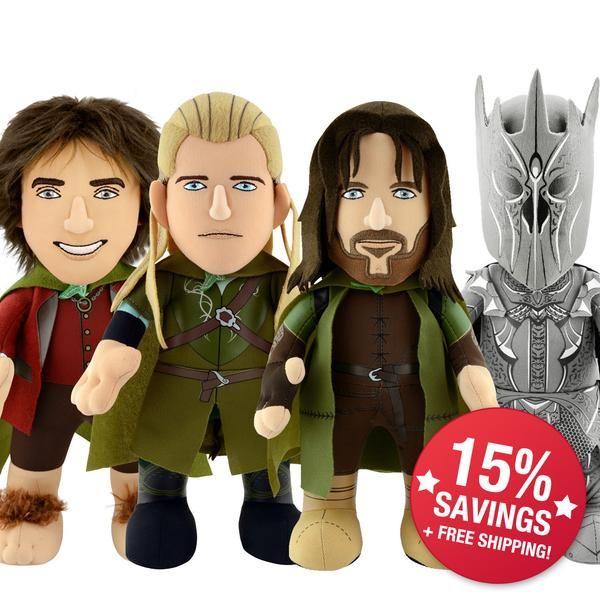 LOTR Full Bundle: Legolas, Aragorn, Frodo, Sauron