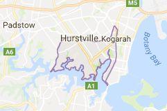 Map of kogarah council