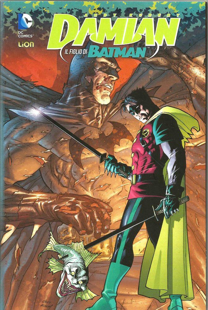 BATMAN: DAMIAN IL FIGLIO DI BATMAN -GRANDI OPERE DC ED. LION
