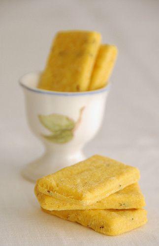 Biscotti salati - Sablè di Felder al parmigiano con tre variazioni