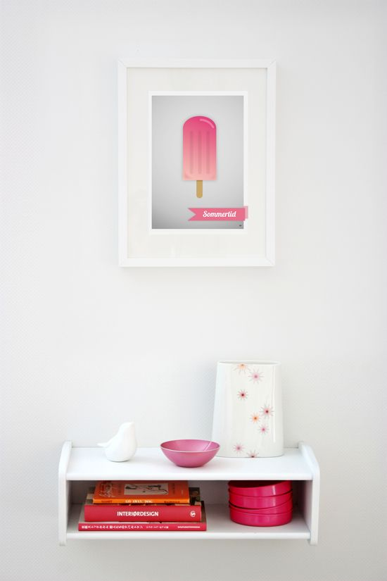 Popsicle, pink