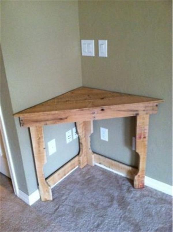 corner pallet table 10 diy ideas for wooden pallets diy recycled rh pinterest com