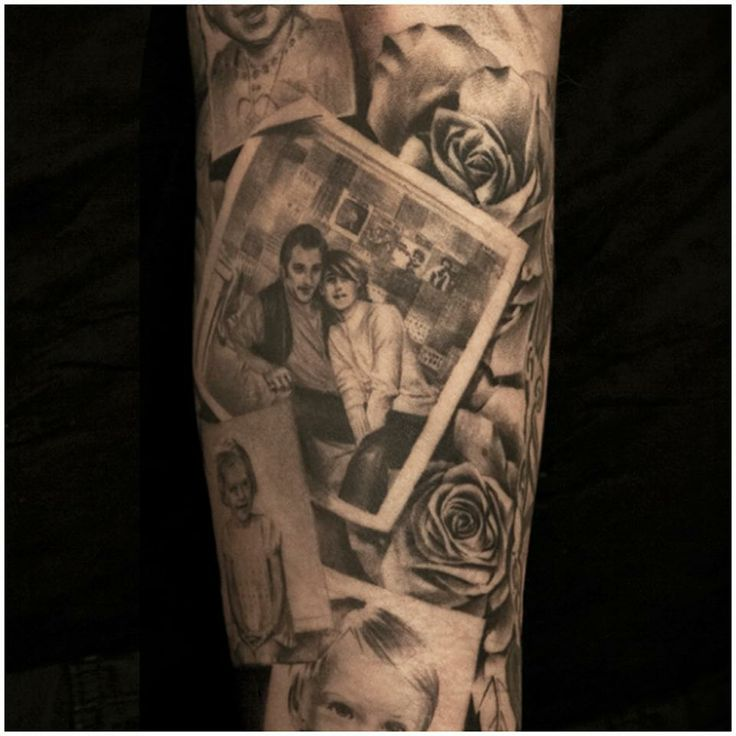 Niki Norberg U Ab Tattoo Art Project  I love this idea!