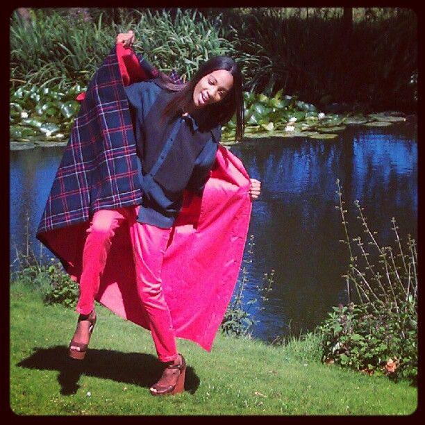 Our model Deandra from @strikemodels having fun today on the set #AW12 #KTWMAG #funtimes #photoshoot