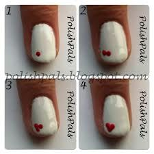 Cute fun and easy nail art for beginners! All you need is red polish, white polish,small dotting tool and toothpick!!!!Hope you try it!