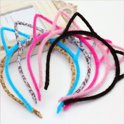 Fashion Lady Girl Lovely Cat Ear Hairbands Headbands Hair Accessories Hair Band