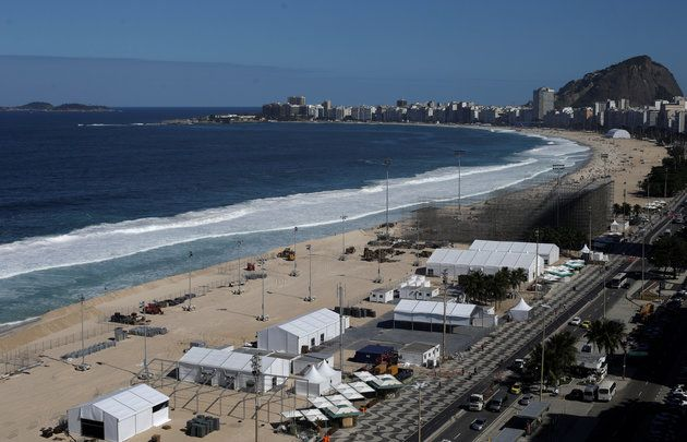 Body Parts Wash Up On The Shore Of Rio's Olympic Volleyball Beach The mutilated body parts were discovered just meters from where athletes will compete.