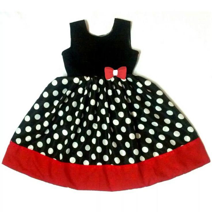 Vestidos Para Niñas, Micky, De Fiesta, Casual, A La Moda - Bs. 7.700,00 en…