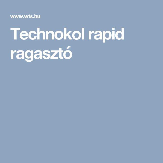 Technokol rapid ragasztó