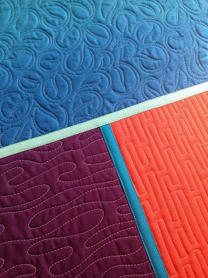 A Few Scraps: Quilt as you Go tutorial: Joining your quilted pieces by machine: