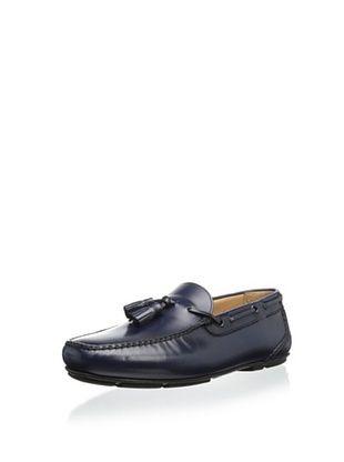 43% OFF Salvatore Ferragamo Men's Simone Tassled Loafer (Blue)