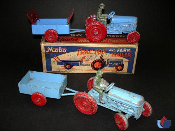 Moko Tractor and Farm Trailer