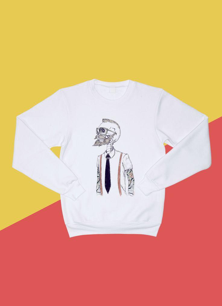 원리볼트 맨투맨 아메리칸어패럴  Design by Mike Koubou (그리스)  #원리볼트 #맨투맨 #아메리칸어패럴 #디자인 #pullover #americanapparel #design #artist #onerevolt