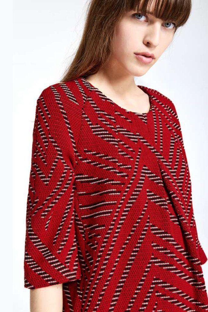 Ba&sh Talweg Rouge Dress
