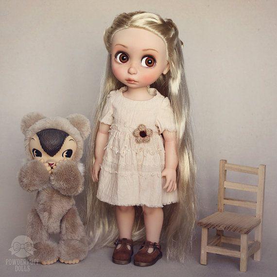 RESERVED / LAYAWAY - Little Alice - OOAK art doll - Disney Animators custom doll