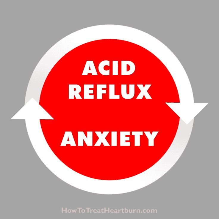 Acid reflux and anxiety play off of each other creating a problematic cycle of mental and physical discomfort. How to stop anxiety heartburn...